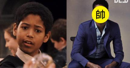 《哈利波特》裡那位「黑人混血小巫師」長大了!現在他的「超MAN帥氣天菜模樣」完全就是小布黑人版!