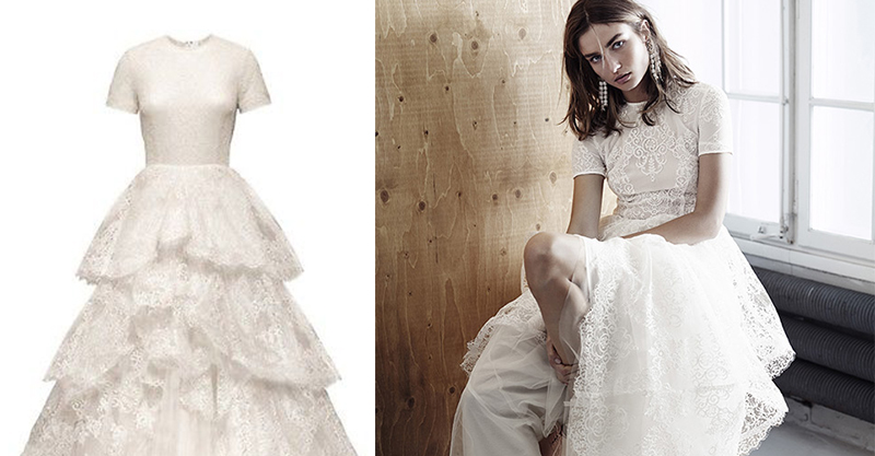 舒淇的結婚價值1000萬鑽戒讓所有人驚艷 (有照片)!但H&M贈品婚紗和新郎的「地攤西裝」才是王道!