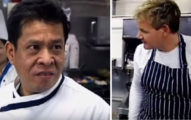 地獄廚神戈登拉姆齊「做泰式炒麵」給泰國廚師吃,對方吃了一口就「成為世界第一個把地獄廚神嗆爆的人」!