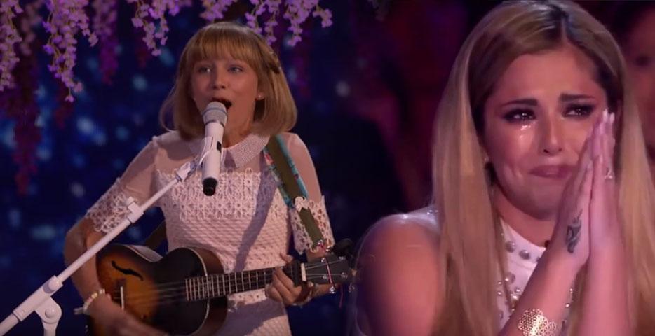 今年《美國達人秀》冠軍出爐了!才12歲作曲作詞、自彈自唱,「唱功讓人雞皮疙瘩」大家已經說她是小泰勒絲了!