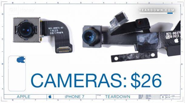 專家公布了iPhone 7的「實際製作成本」,看到所有材料總和總金額發現其實大家都被坑爆了!