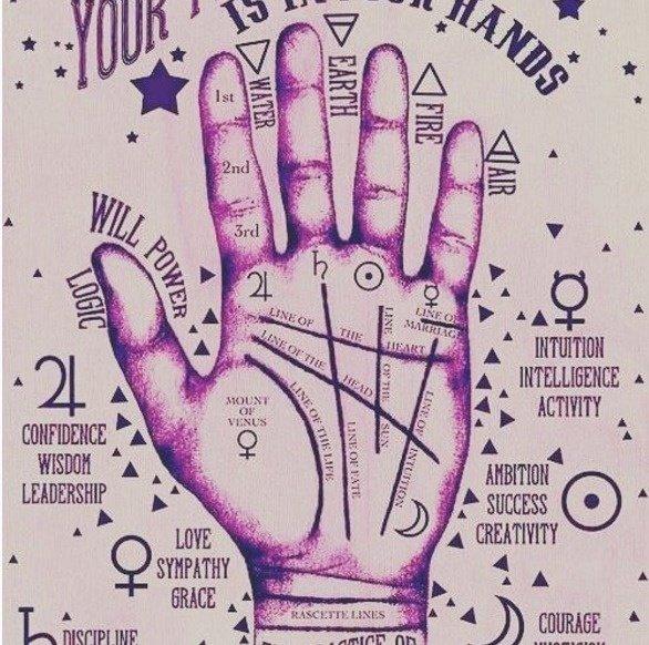 你知道可以從手腕上的紋路看出你的未來嗎?而且只有少數幸運星才有第4條紋路喔!