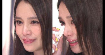 老公55億財務危機讓徐若瑄復出,被問到老公之前的事情時,她開始默默掉淚...