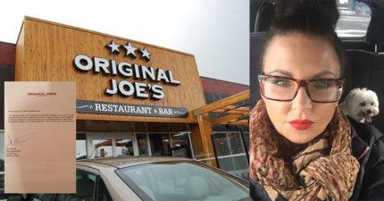 她在餐廳外停車一整晚害怕隔天會收到罰單,隔天一看「餐廳開的罰單」感動到全網路瘋傳!