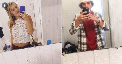 男生用交友網站看到「漂亮女生在他的廁所裡」!離奇真相讓網友拍手高喊:「在一起」!