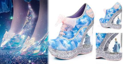 7款比玻璃鞋還要美的「仙履奇緣聯名鞋款」,每種不同鞋跟設計閃瞎所有人!