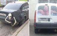 40個「光看車就知道主人已經瘋掉」的過分暴力外型汽車。