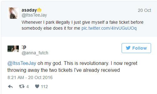 這名大學生教大家怎麼騙過警察「違規停車不被開單」,方法爆炸簡單但有點缺德喔!