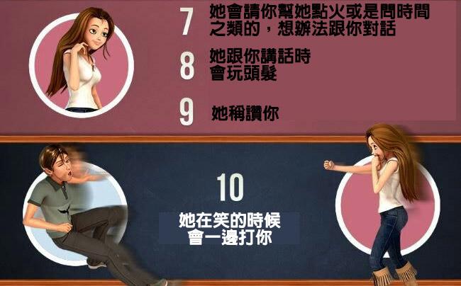 30個「能讓你看出一個女孩喜歡你」的超實用守則。如果#24出現就真的有戲了!