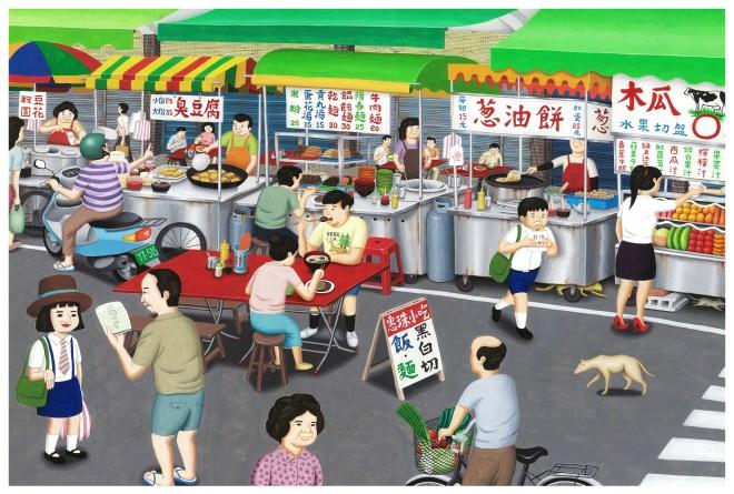 他們畫出「台灣人共同回憶」超懷舊插畫 網友看到浴缸超感動:回不去了!