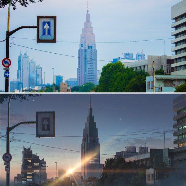 11個《你的名字》的「動畫vs.真實場景比較」 系守町的湖「真實位置」曝光!