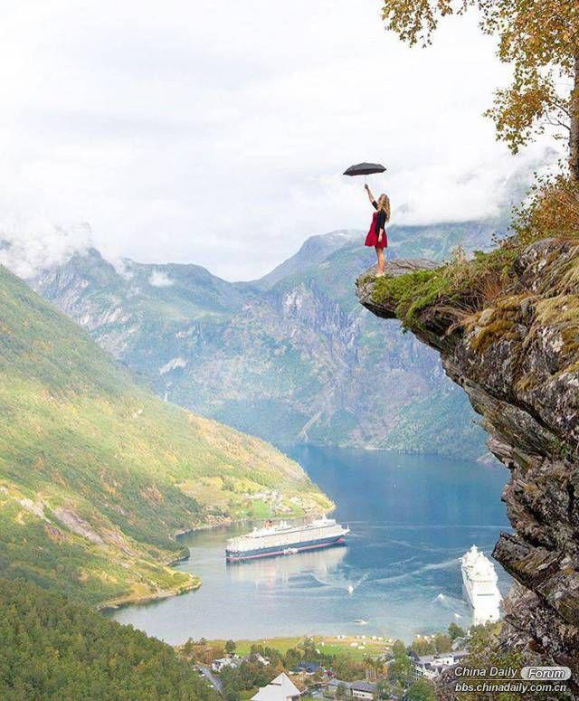 12張讓你秒分辨拍照的人是「高手」還是「菜鳥」的世界美景照,#1一不小心就把冰島拍成公共澡堂了...
