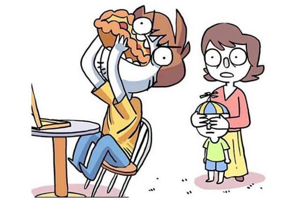 8則會讓身為大人的你「中槍到淚流滿面」的爆笑生活漫畫。#6真的每天都在發生!