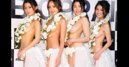 日本「第一美乳」冠軍就是這位95公分F罩杯22歲正妹,評審:「摸起來的觸感很重要」!(內有多張圖)