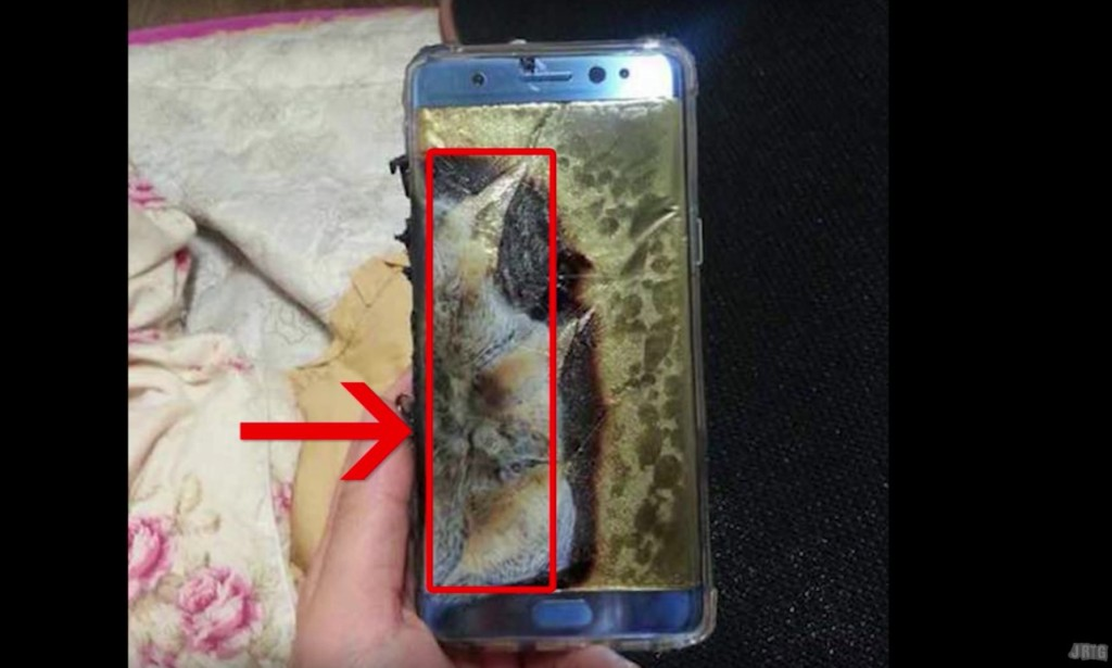 為什麼Note 7每次爆掉都是左邊這邊?3C達人「超精密解剖Note 7」發現我們大家對電池都誤會大了!