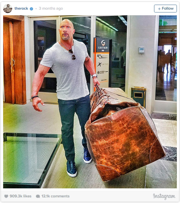 24張理由證明巨石強森如果不是全球收入最高演員就太沒天理了!