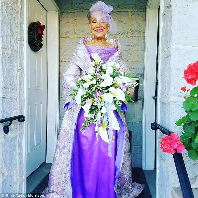86歲阿嬤自己設計婚紗「霸氣再婚」 網感動:年齡不能定義我們!