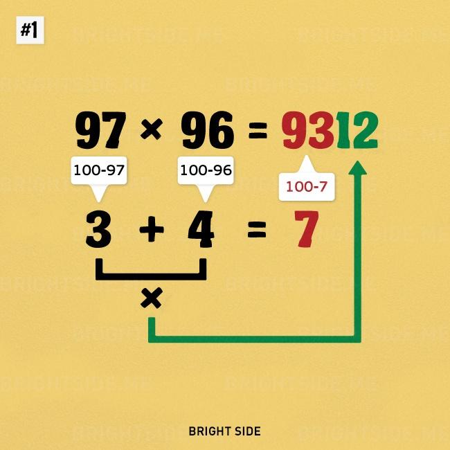 9個「你如果早點知道可能就可以去上哈佛」的天才算數小伎倆。#2早知道就這樣背九九乘法了!