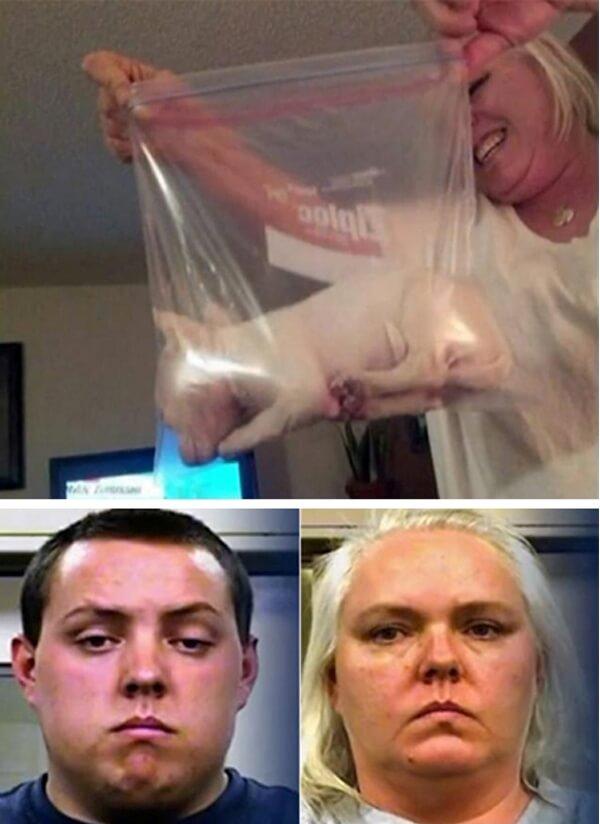 超扯媽媽「把小狗裝夾鏈袋冰冰箱」還拍照上傳,被逮捕後竟說「牠亂動我無法拍照...」