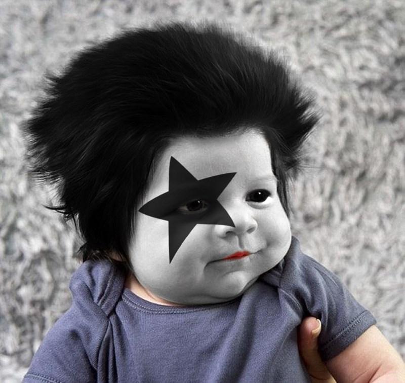 「獅子頭嬰兒」在網路爆紅,讓網友們的P圖慾望直接爆發!(26張)