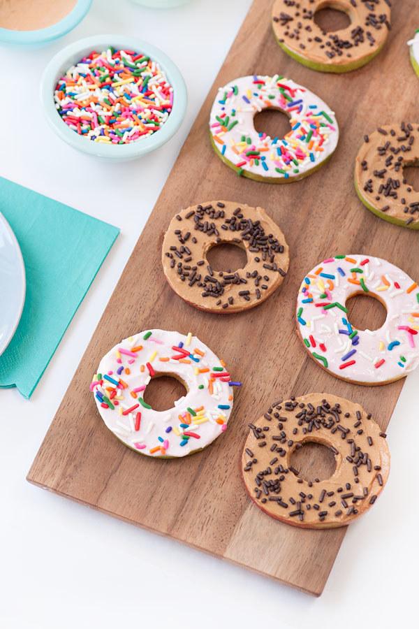 Healthy Apple Doughnuts