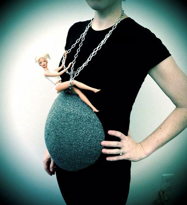 30個「已經把肚子裡寶寶變成最完美變裝」的爆創意老媽。