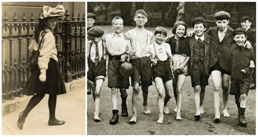 22張100年前世界各地年輕人的「當時時尚服裝」照片