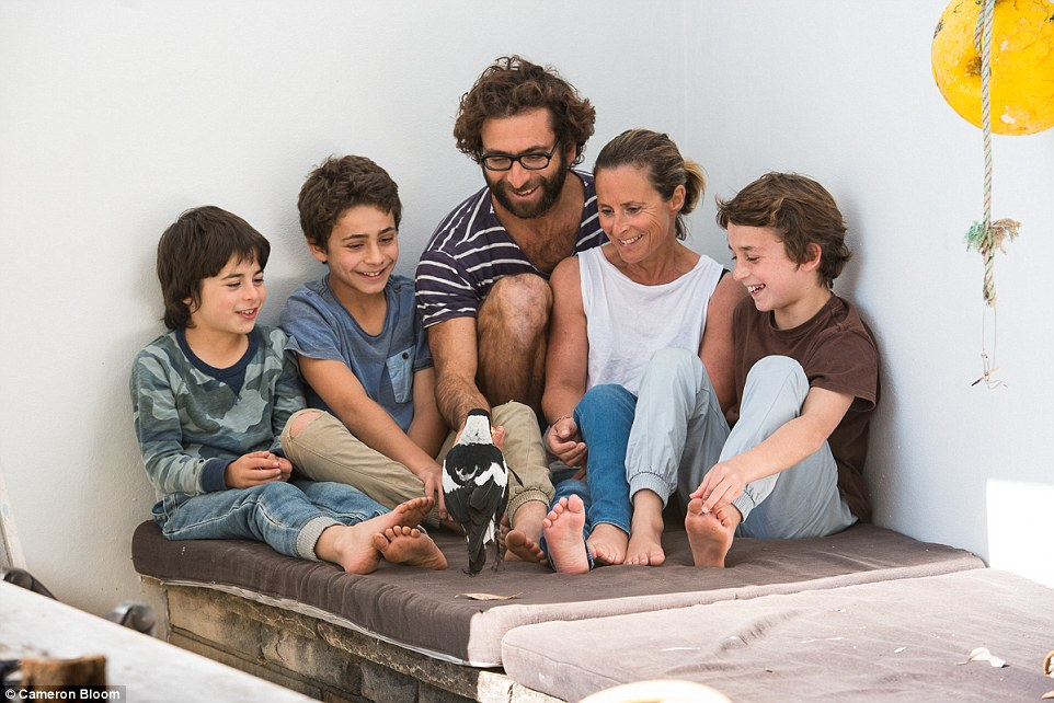 The Bloom family from Newport, Sydney, discovered Penguin the magpie in 2013 when she was a few weeks old and she quickly became part of the family with Cameron, Same and their children Rueben, Noah, and Oli