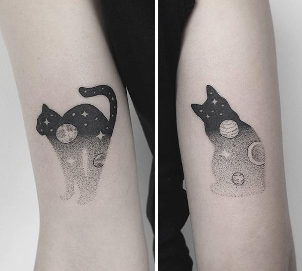 30個「被烙印成貓奴」的完美喵星人刺青人類。