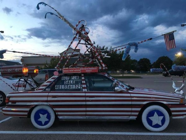 strange bizarre cars cool awesome 22 You see the strangest cars on the road nowadays (40 Photos)