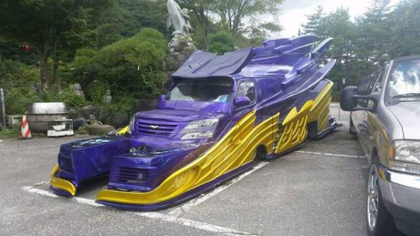 strange bizarre cars cool awesome 27 You see the strangest cars on the road nowadays (40 Photos)