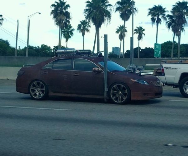 strange bizarre cars cool awesome 28 You see the strangest cars on the road nowadays (40 Photos)