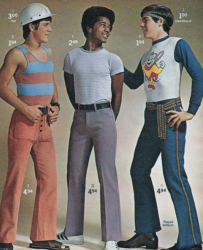 1970s Men's Fashion
