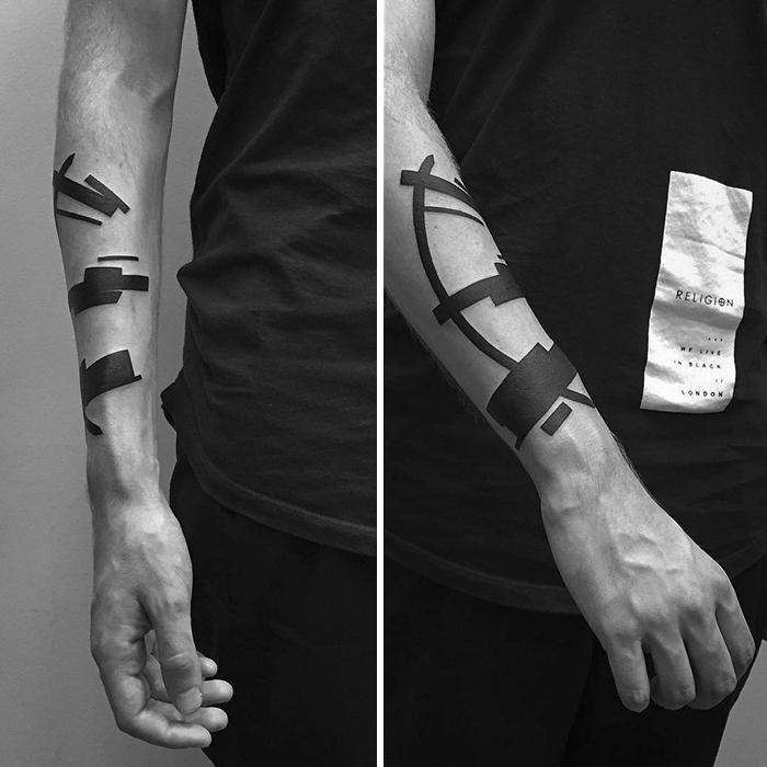 Suprematism-inspired-digital-minimalist-tattoos-stanislaw-wilczynski