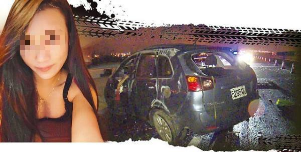 16歲無照駕駛少女國道自撞當場慘死,只因為男友一句話…
