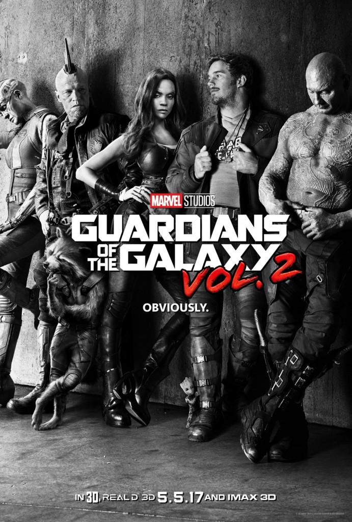 最新《星際異攻隊2》前導預告出爐!正式海報「星爵腳邊亮點可愛到爆」!