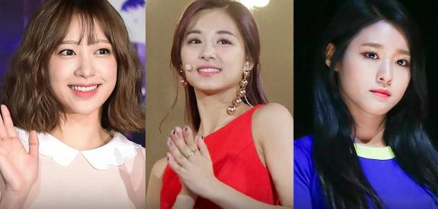 周子瑜、金雪炫、哈妮合體表演經典歌曲《Nobody》,子瑜超性感程度直接爆表!