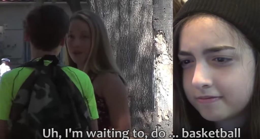 13歲女生測試自己男友會不會劈腿,最後她表情超難看...