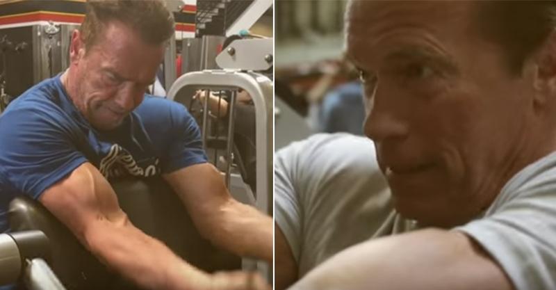 69歲魔鬼人阿諾讓你看到他猛將健身過程,告訴世人「年紀不過是個數字罷了」!