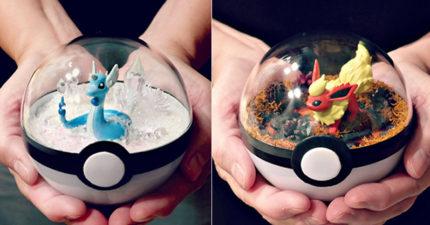 31個超夢幻手工寶可夢「玻璃球世界」 精緻到一上架就瞬間被搶光