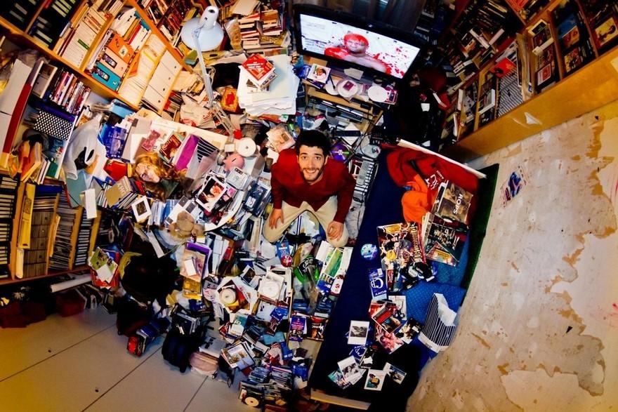 30幾世界各地年輕人房間私密照大公開「會讓你看到你有多幸福」,#6日本人超級反差萌的!