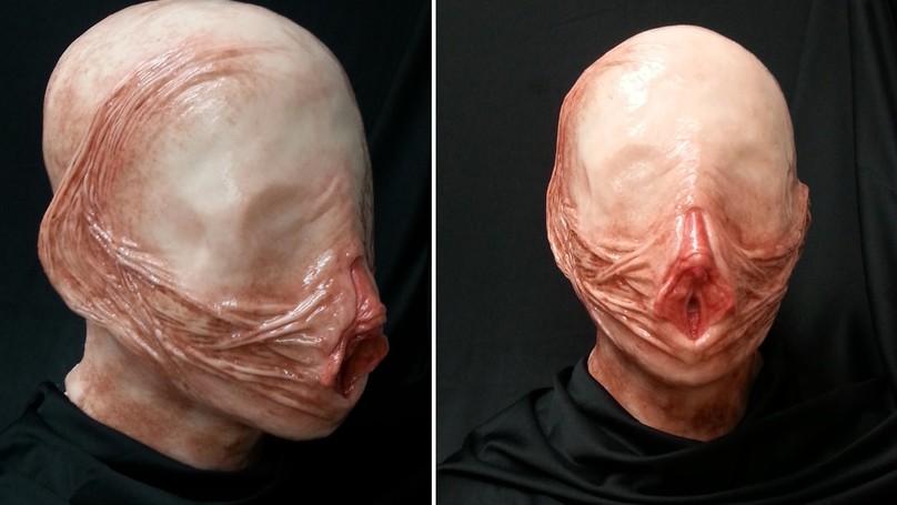 這一款獨一無二「陰道面具」已經激烈到一定要打馬賽克!第二款「GG面具更是超逼真」!(兒童不宜)