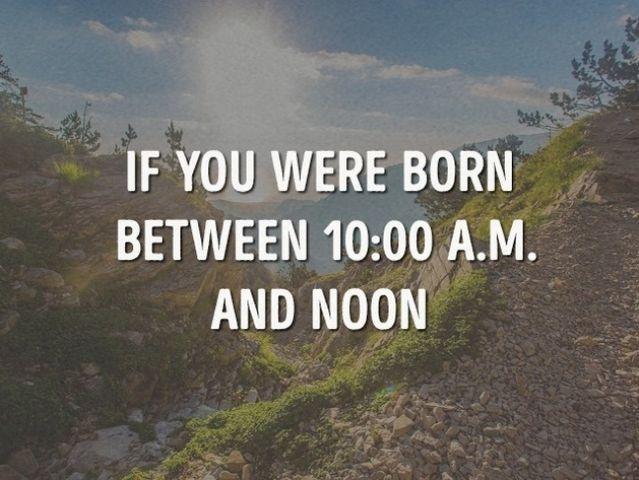 「12個不同出生時間」決定不同個性,04:00 06:00出生的人:要對自己更有自信!