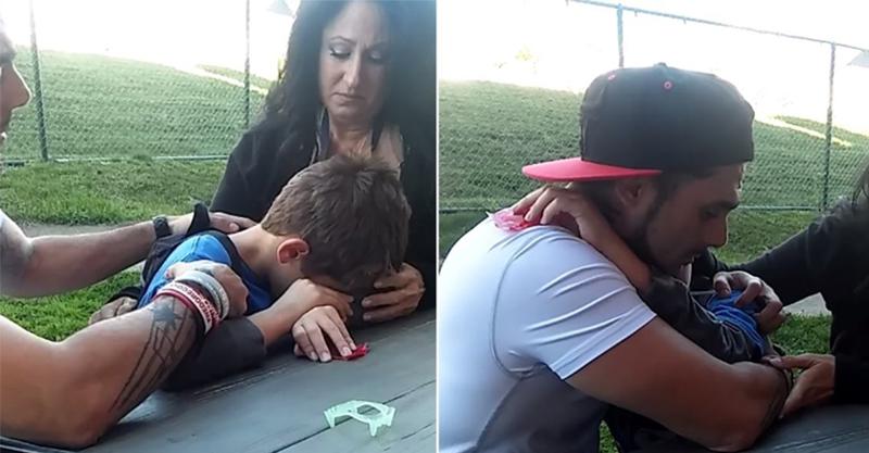 男子分享自己需要跟8歲兒子說「你的媽媽昨晚死了」的心痛影片...