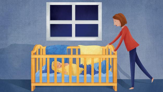 這就是為什麼「剛出生寶寶每晚都半夜醒來大哭」,其實是件好事情!