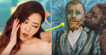 張靓穎最新英文單曲MV把名畫作玩壞「超有碧昂絲FEEL」請仔細看!拳王泰森把梵谷耳朵咬掉超暴力!