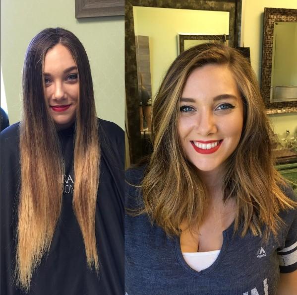 18個讓你美麗大升級的「超強大剪髮改造」前後對照圖,#13從路人變安海瑟薇!