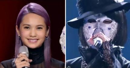 楊承琳卸下「鑽石女士」面具時,說出了蒙面真相!