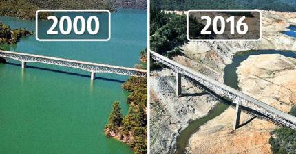 17張「地球以前VS現在」地球已摧毀恐怖對照圖,證明我們可能時間真的不多了...