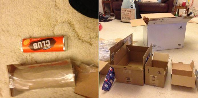 8個「突破腦袋極限」讓你感到哭笑不得的「另類禮物包裝」!